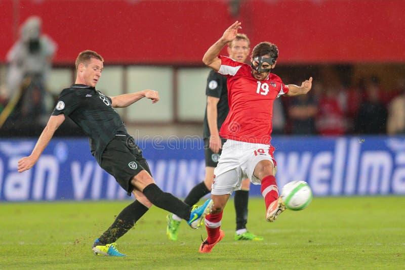 Österrike Belgien vs ireland arkivfoton
