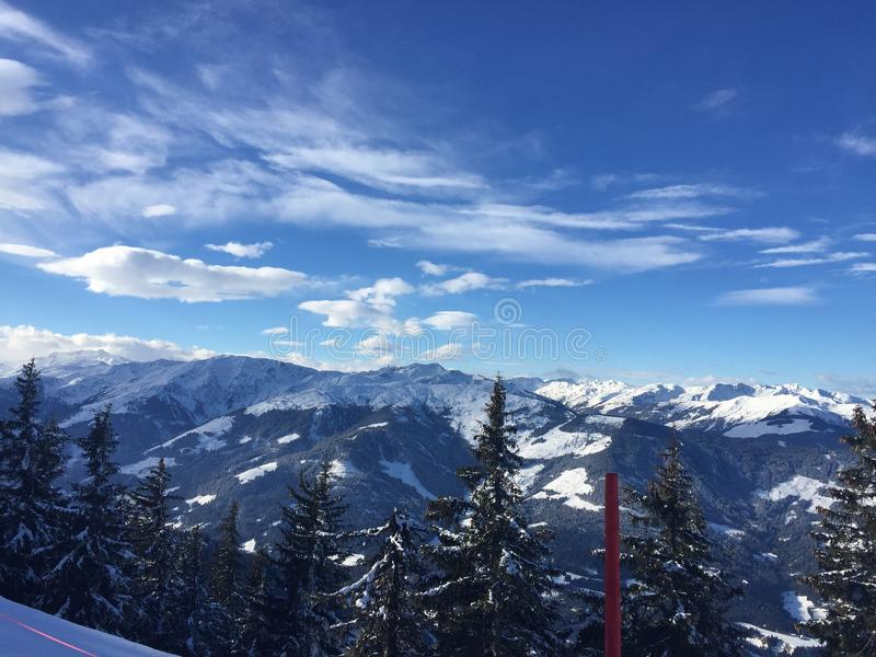 Österrike berg royaltyfri bild