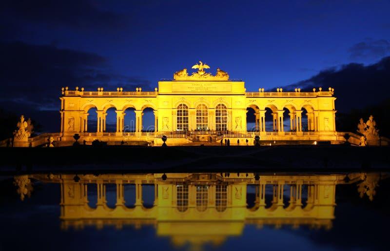 Österrike gloriette vienna arkivfoton