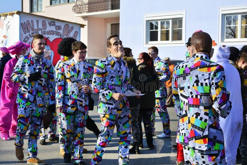 Österrike karneval royaltyfri bild