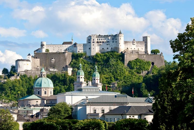Österrike salzburg arkivfoton