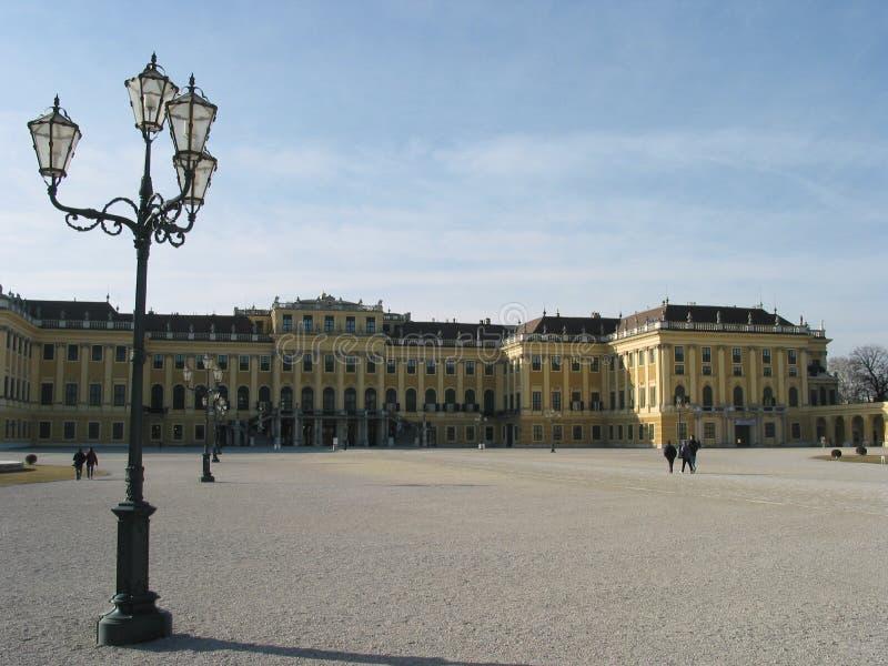 Österrike schoennbrunn vienna arkivbild