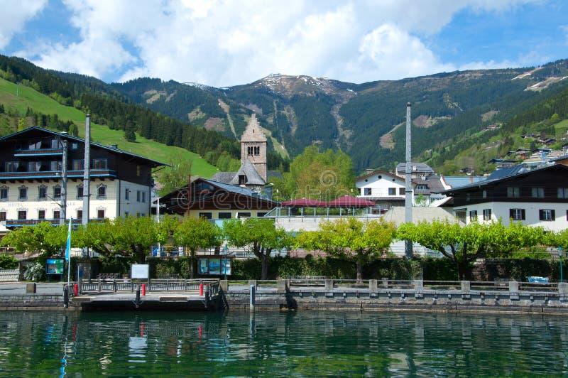 Österrike ser zell fotografering för bildbyråer