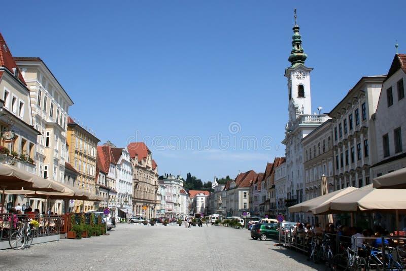 Download Österrike steyr arkivfoto. Bild av gammalt, kyrka, historia - 513322