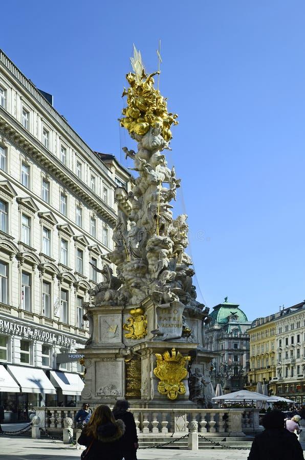 Österrike Wien, Graben royaltyfri bild