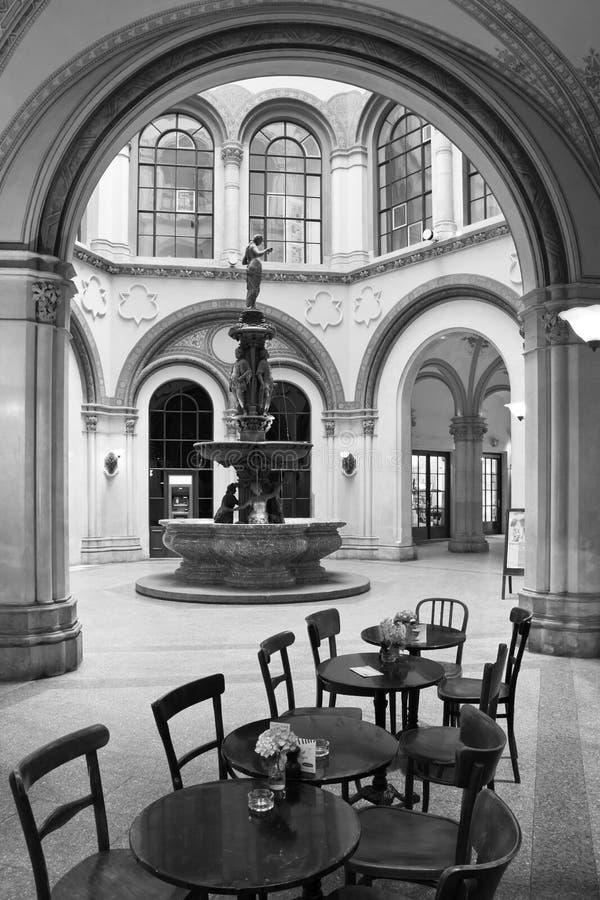 Österrike Wien, passage Ferstel fotografering för bildbyråer