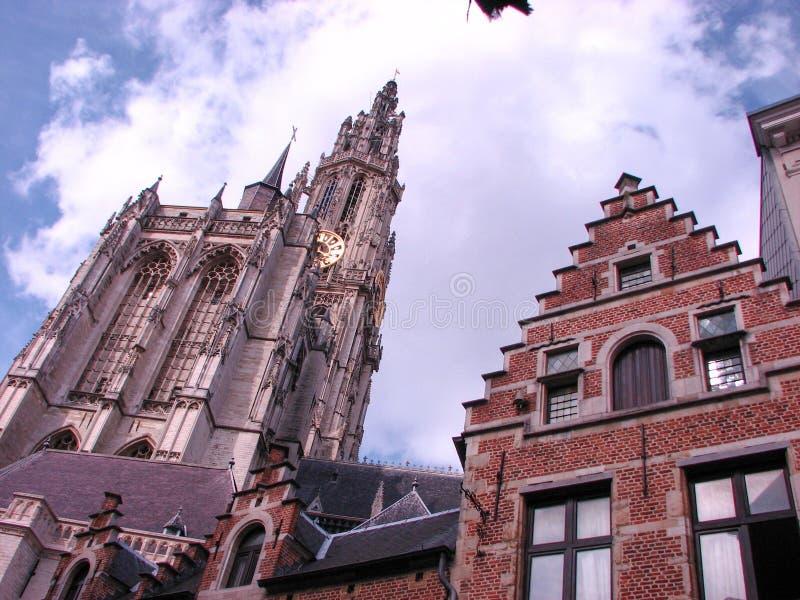 Österrikiska byggnader royaltyfria bilder