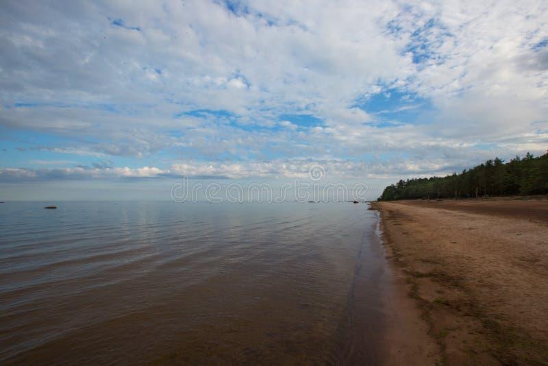 Östersjön golf av Finland royaltyfria foton