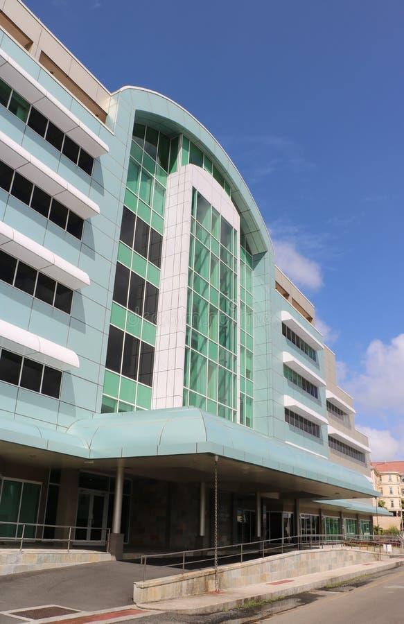 Östliche karibische Zentralbank-Niederlassung in Castries, St. Lucia stockfotos