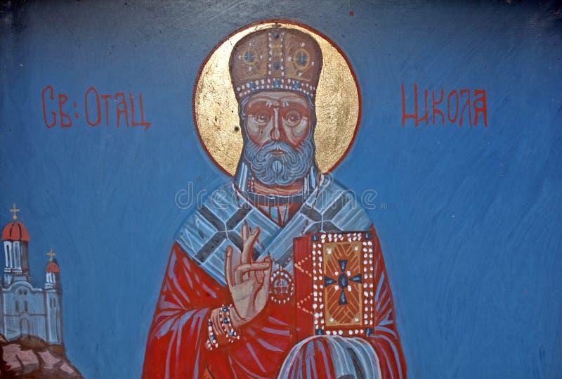 Östliche orthodoxe Kirche, Senta, Serbien lizenzfreies stockfoto
