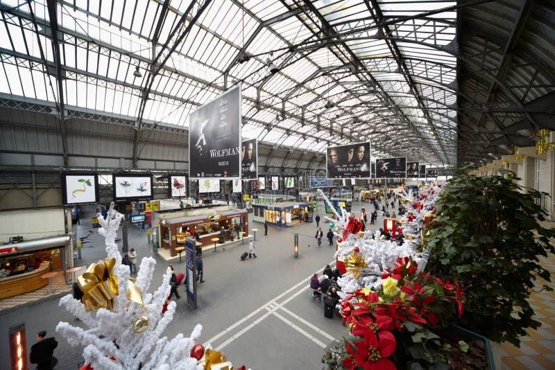östlig est gare l järnvägstation för de arkivfoton