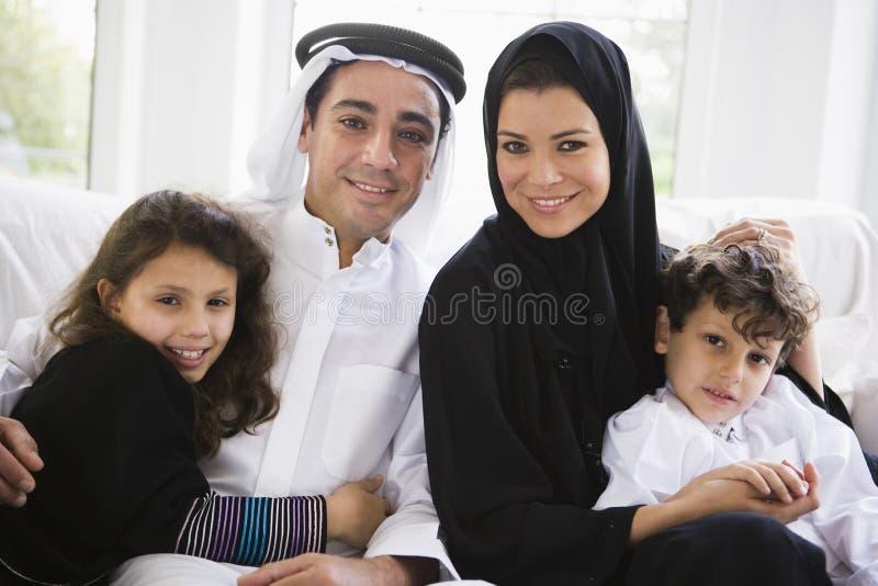 östlig familjmitt arkivfoton