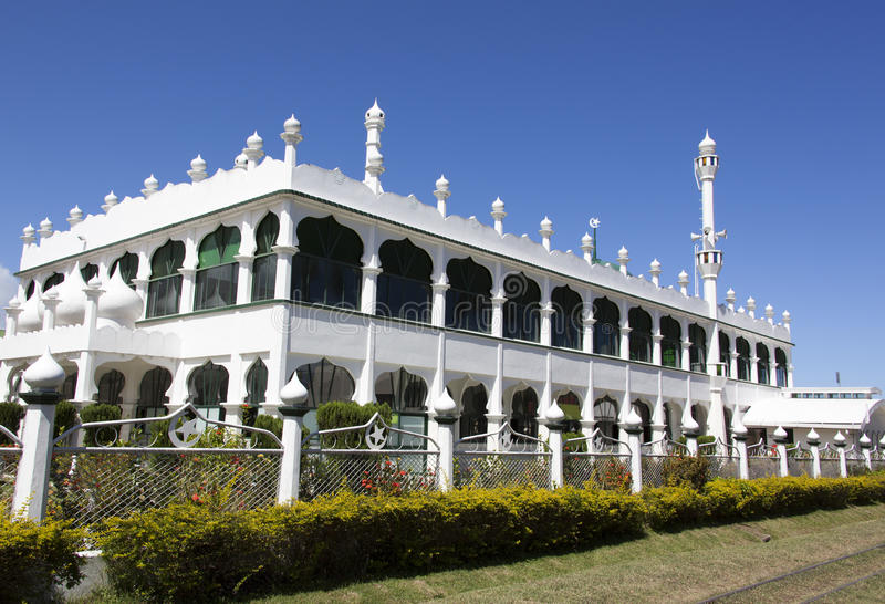 Östlig fijiansk arkitektur arkivfoto