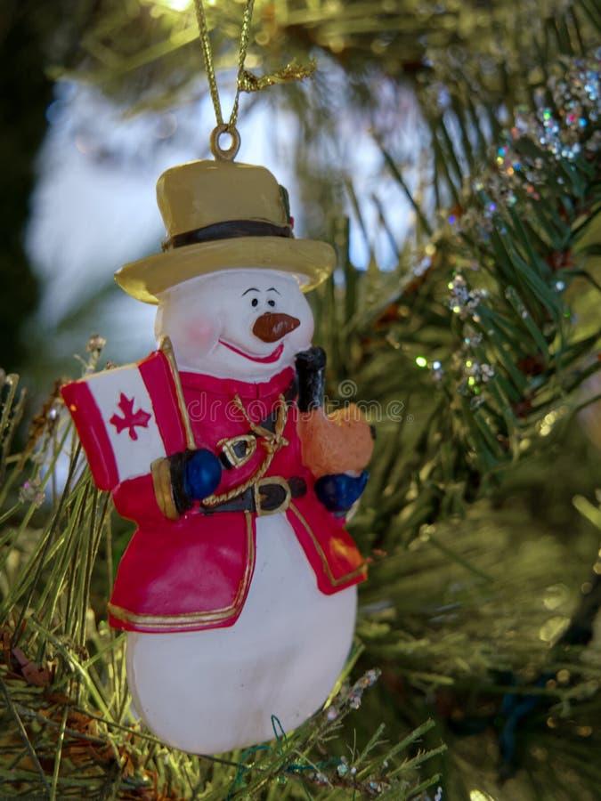 ÖSTLIG GRINSTEAD, VÄSTRA SUSSEX/UK - JANUARI 5: Kunglig kanadensare Moun royaltyfri bild