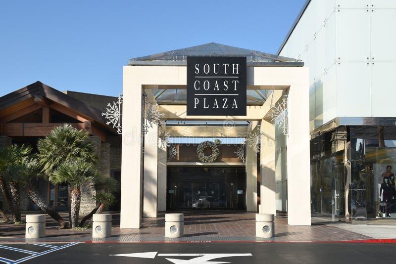 Östlig ingång för sydkustPlaza royaltyfri bild