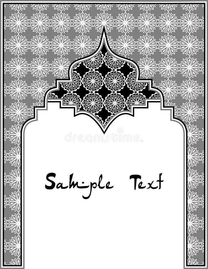 Östlig svart royaltyfri illustrationer