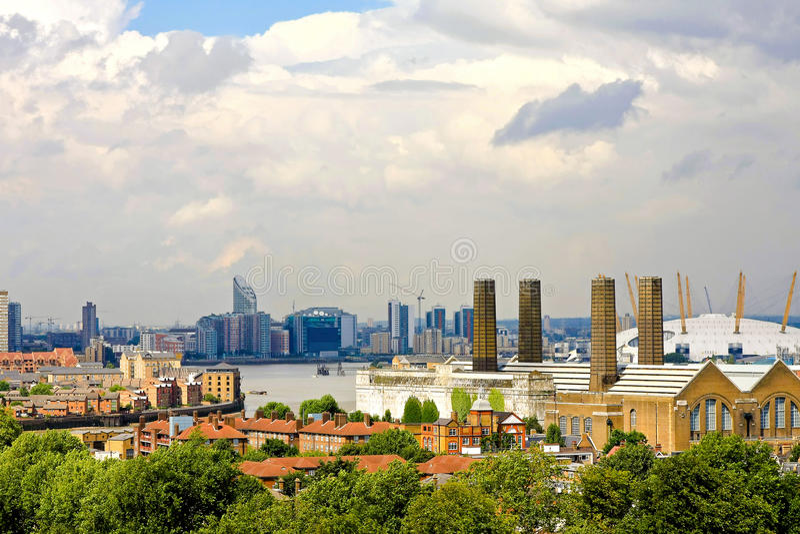 östliga london royaltyfri foto