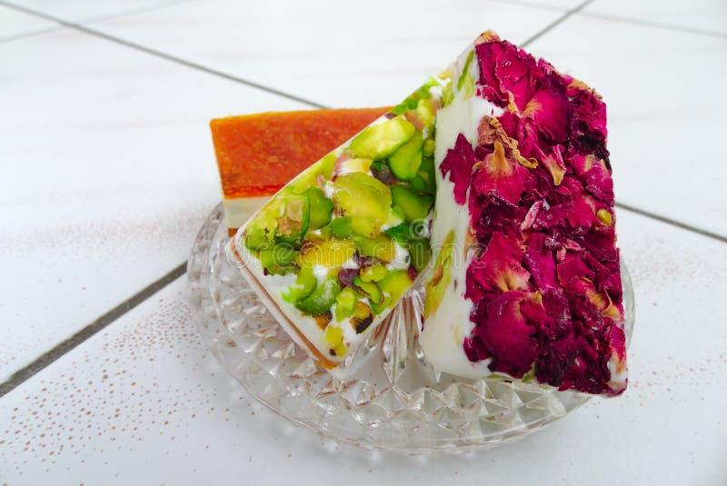 östliga sötsaker arkivfoto