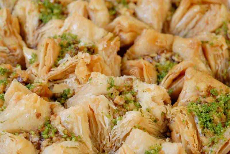 östliga sötsaker för baklava royaltyfria foton