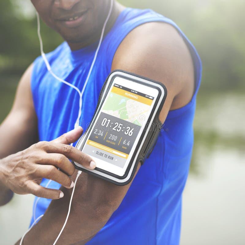 Öva sunt jogga avslappnande begrepp för Wellness royaltyfria foton