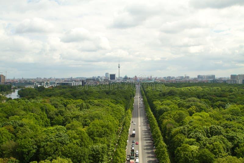 Över Berlin royaltyfria foton