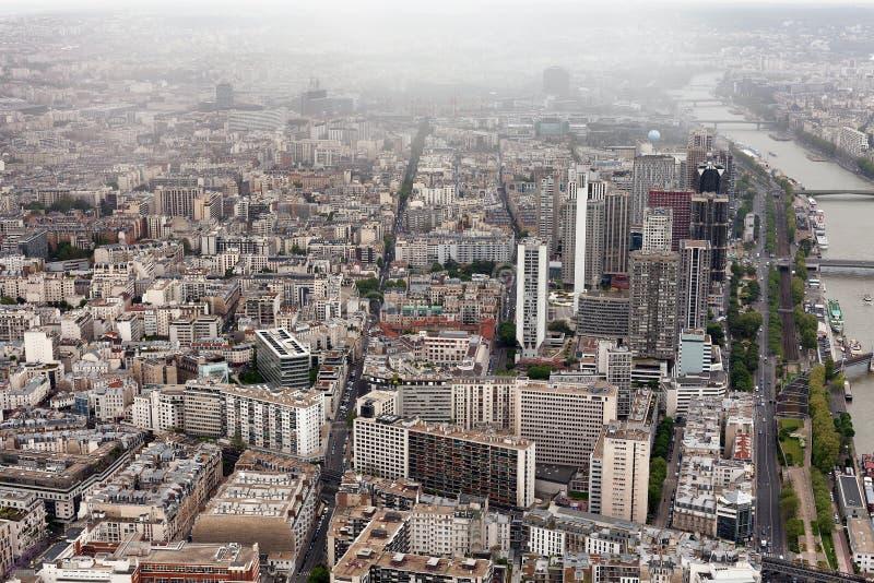 över den paris sikten arkivbilder