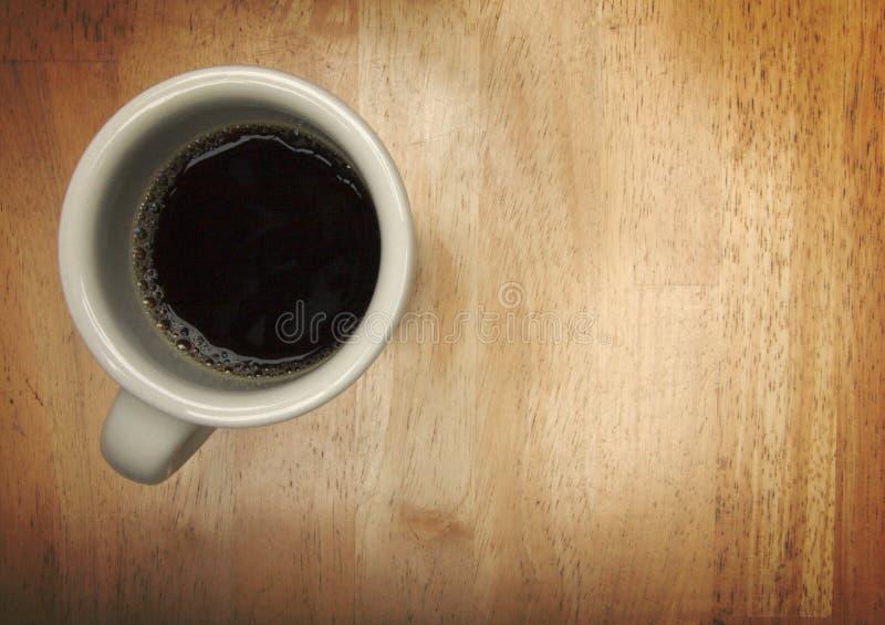 över huvudet kaffekopp fotografering för bildbyråer