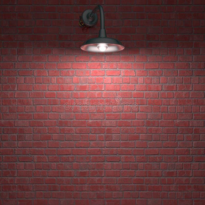 Över Natten Lampa Fotografering för Bildbyråer