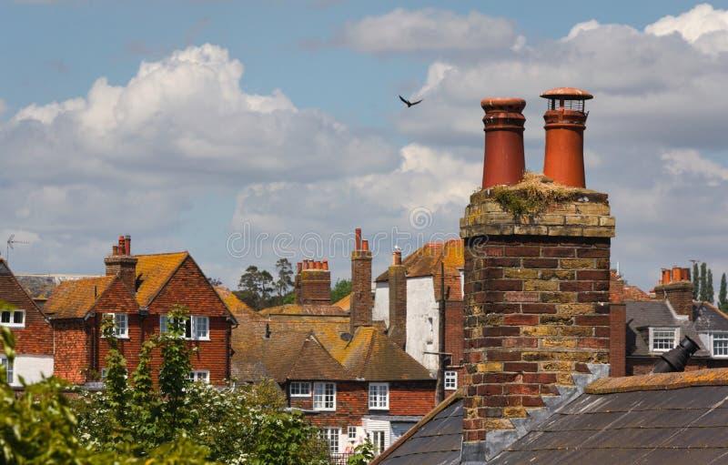 Över taket överträffar - råg - UK royaltyfri bild