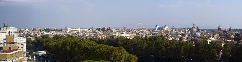 överblick rome royaltyfri foto