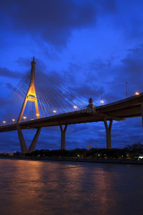 Överbrygga bransch. Bangkok arkivfoton