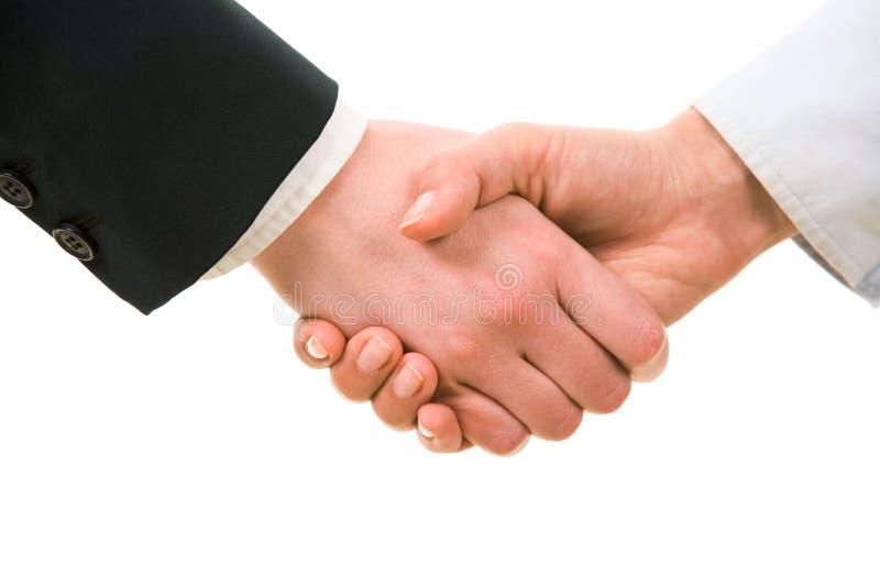 överenskommelseframställning royaltyfri bild