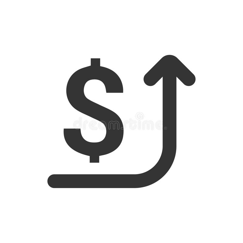 Överför pengarsymbolen royaltyfri illustrationer