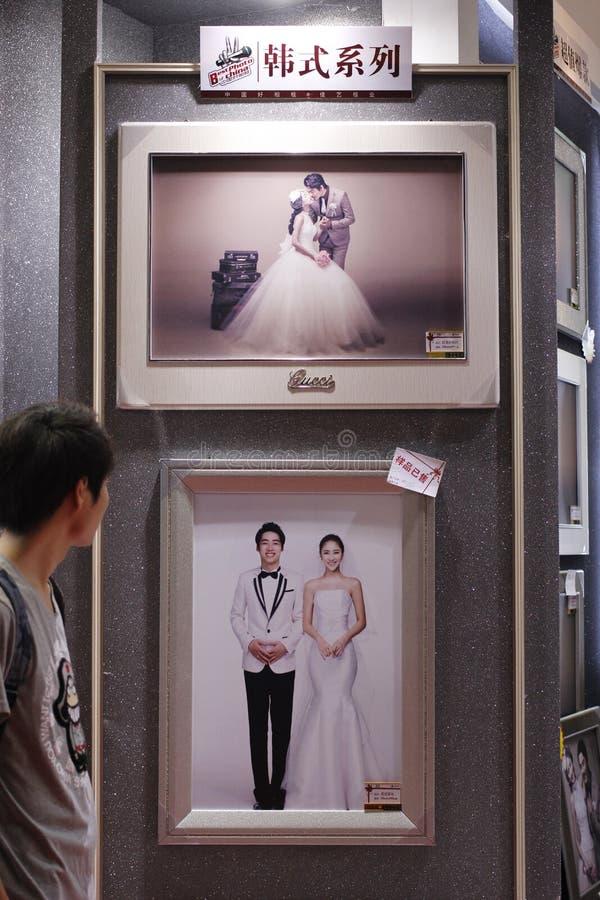Övergående bröllop arkivbilder