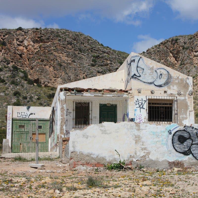 övergiven byggnad fotografering för bildbyråer