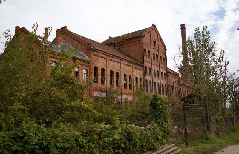 övergiven fabrik arkivfoton