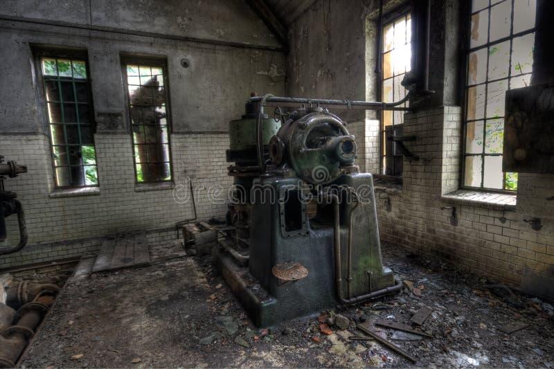 övergiven fabrik royaltyfri fotografi