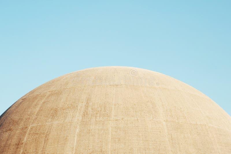 Överkant av en Amphiteatre kupol fotografering för bildbyråer