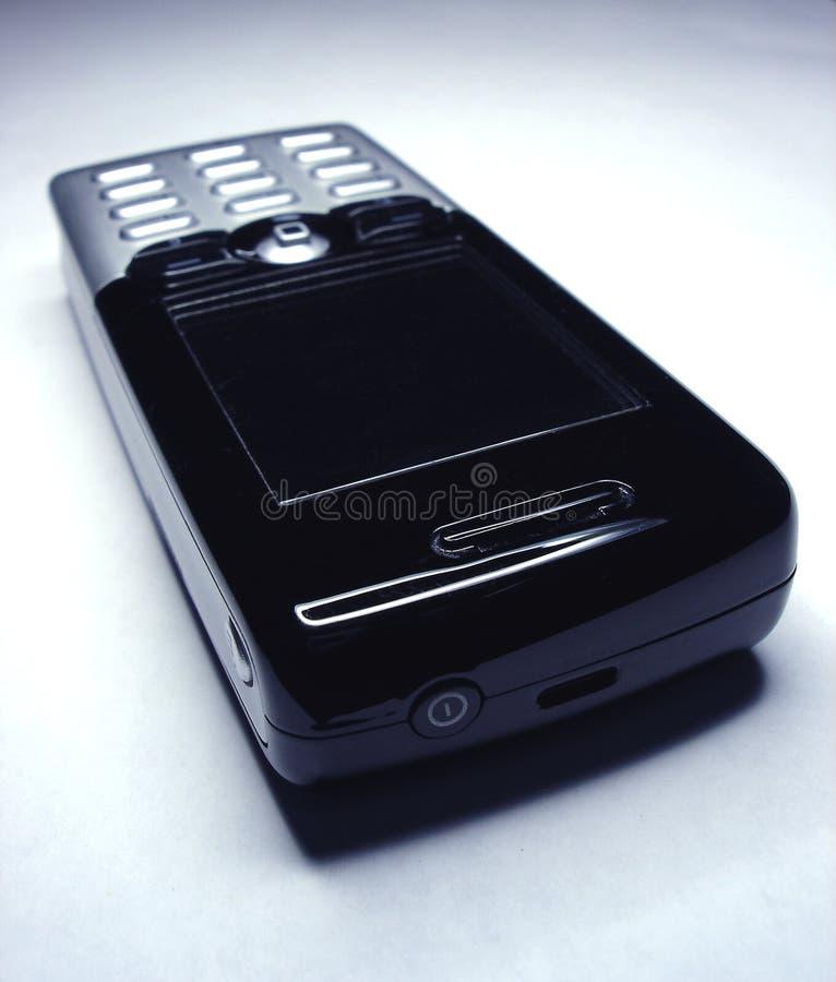 överkant för höger sida för celltelefon arkivbild