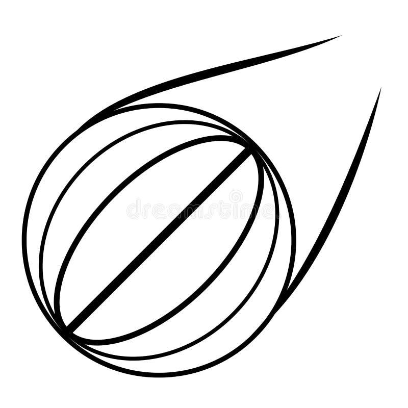 Översikt för skola för basketbollsport vektor illustrationer