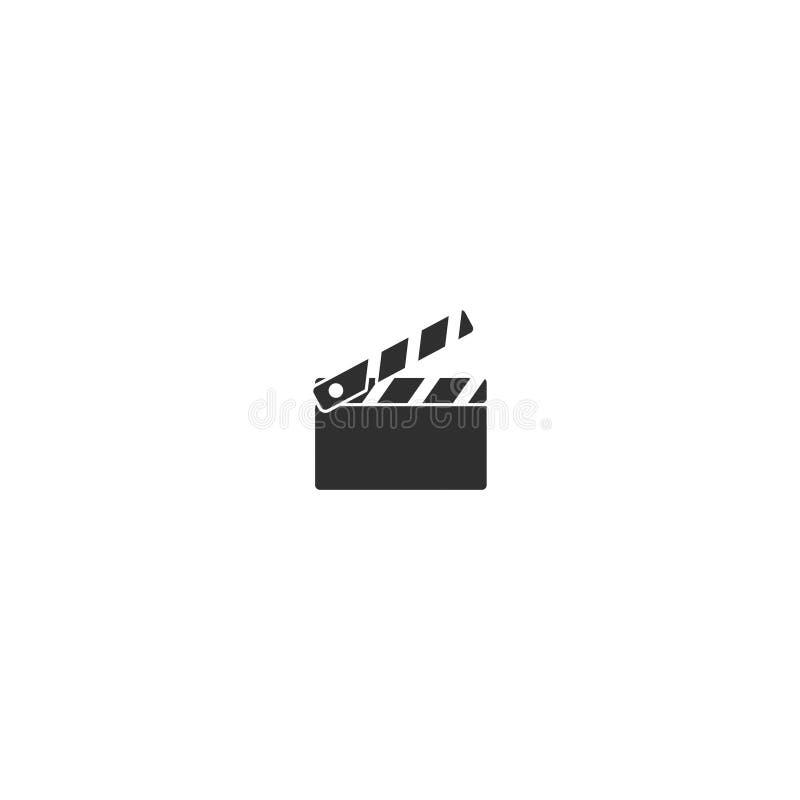 Översikten för symbolen för kameran för filmfilmen isolerade 4 royaltyfri illustrationer