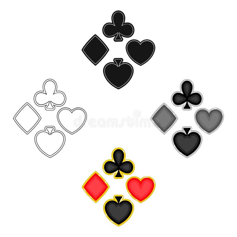 Översikter enkel symbol i tecknade filmen, svart stil ?versikter reng?ringsduk f?r illustration f?r vektorsymbolmateriel royaltyfri illustrationer