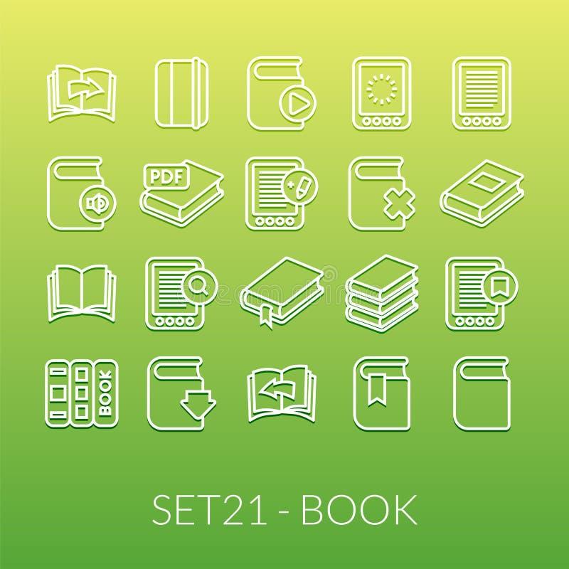 Översiktssymboler gör framlänges designen, den moderna linjen slaglängd tunnare vektor illustrationer