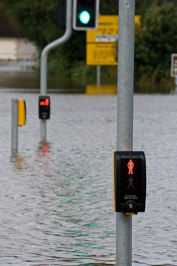 översvämmar weymouth royaltyfri foto