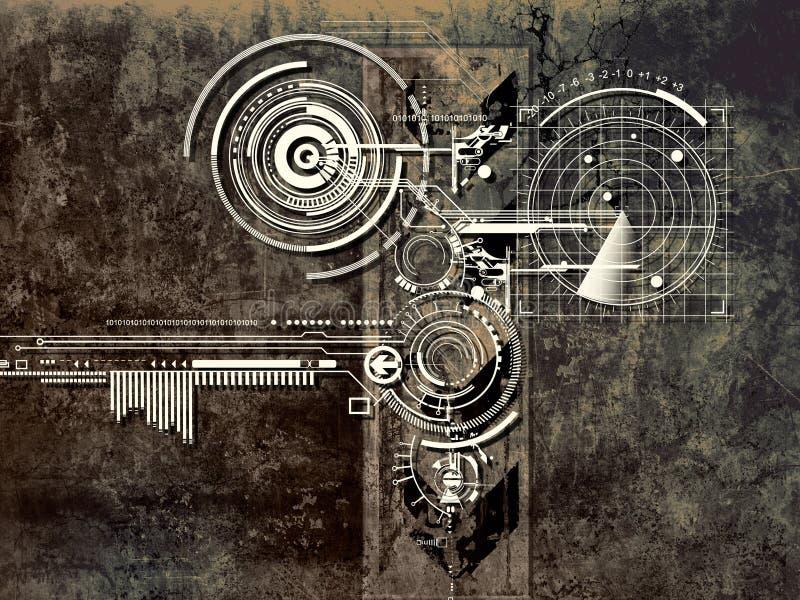 Övervaka stock illustrationer