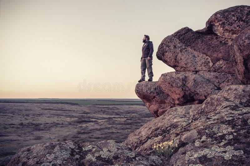 övre handelsresande för berg fotografering för bildbyråer