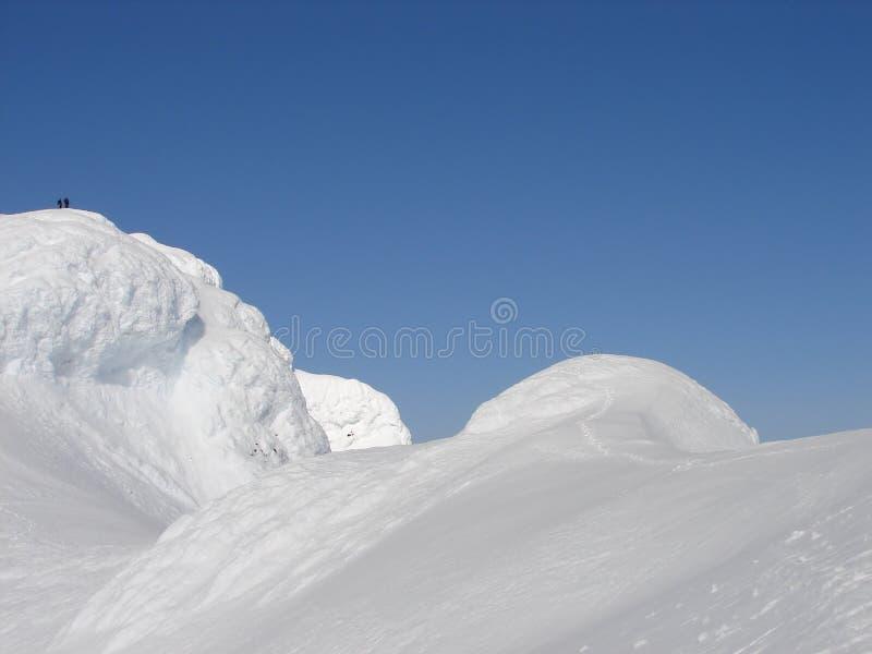 övre vulkan för 2 277 beerenbergklättrare M arkivfoto