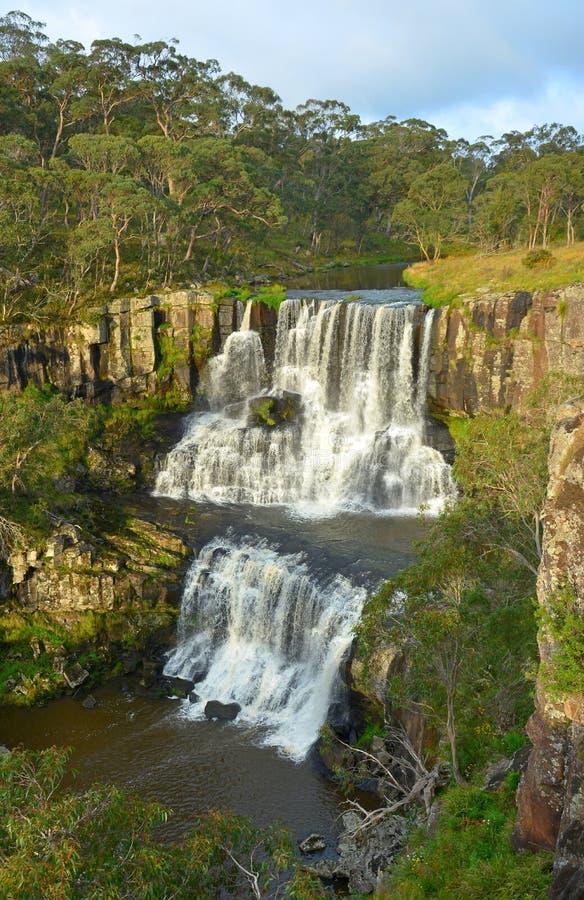 ÖvreEbor nedgångar i Australien arkivbilder
