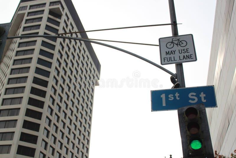 ø St em Los Angeles, Califórnia, Estados Unidos fotos de stock royalty free