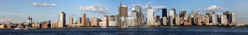 Última hora de la tarde céntrica del horizonte de New York City